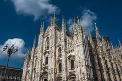 Duomo di Milano, Cathedral of Milano, Italy Royalty Free Stock Photos