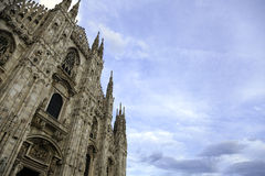 Duomo di Milano. Color image Stock Photo