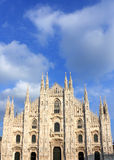 Duomo di Milano, Italy. Duomo di Milano with blue sky in background Royalty Free Stock Photos