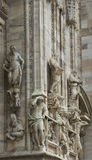 The Duomo di Milano. Royalty Free Stock Photos