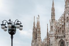 Duomo di Milano. Milan Cathedral or Duomo di Milano Stock Photography