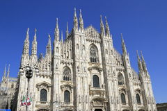 Duomo di Milano, Milan Cathedral. Is the cathedral church of Milan in Lombardy, northern Italy Stock Photos