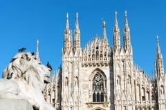 Duomo di Milano - Milan Cathedral - Italy Stock Images