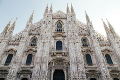 Duomo DI Milano. Milan is located in the city center, is a landmark building in Milan, the world's second largest church, the first big brother the Gothic church royalty free stock image