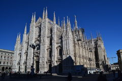 Duomo di Milano. The most representative church from Milano Royalty Free Stock Photo