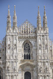 Duomo di Milano. This is a photo of the famous Duomo di Milano Royalty Free Stock Images