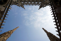 Duomo di Milano'sky Stockbilder