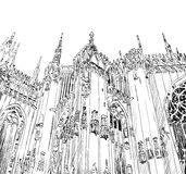 Duomo di Milano. Royalty Free Stock Photo