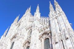 Duomo di Milano. View of Milan (Duomo di Milano),Italy Royalty Free Stock Photos