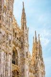 Duomo di Milano w Mediolan, Włochy Obraz Royalty Free