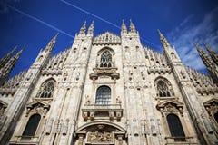 Duomo di Milato Arkivfoton