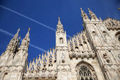 Duomo di Milato 免版税库存照片