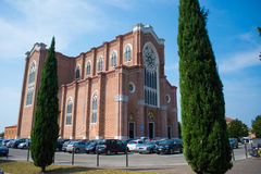 Duomo di Montebelluna, Venetien, Italien Lizenzfreie Stockfotos