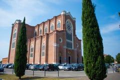 Duomo di Montebelluna, Veneto, Italia fotografie stock libere da diritti