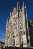Duomo di orvieto, terni, umbria Italien, Europa arkivfoton