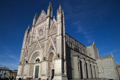 Duomo di orvieto, terni, umbria Italien, Europa royaltyfri foto