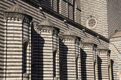 Duomo di orvieto, terni, umbria Italien, Europa royaltyfri bild