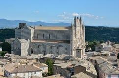 Duomo di Orvieto in Umbrien Lizenzfreie Stockbilder