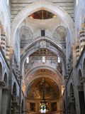 Duomo di Pisa, Italia. The Cathedral of Pisa interior view, Italy Stock Image