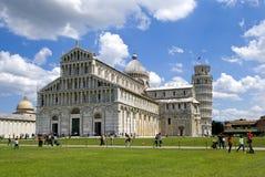 Duomo di Pisa in the sun day Stock Photos