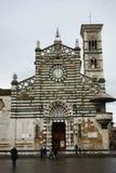Duomo Di Prato, Τοσκάνη, Ιταλία, Στοκ Εικόνα