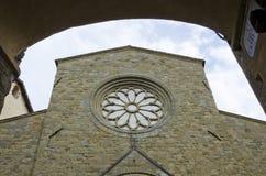 Duomo di Sansepolcro Royaltyfri Fotografi