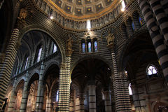 Duomo di Siena interno n.2. Inside the famous Dome of Siena in Italy Royalty Free Stock Photos