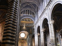 Duomo di Siena ( Italia ). Inside the Dome of Siena (Santa Maria Assunta)in Tuscany, Italy Stock Photos