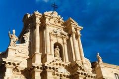 Duomo di Siracusa royalty free stock images