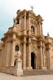 Duomo di Siracusa Imagen de archivo libre de regalías