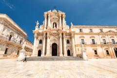 Duomo di Siracusa Fotos de archivo