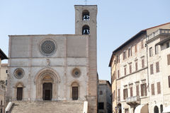 Duomo di Todi Royalty Free Stock Photography