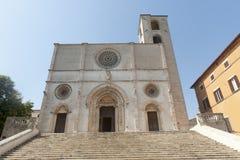 Duomo di Todi images stock