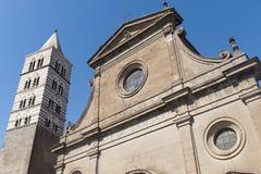 Duomo di Viterbo Stock Photos