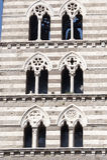 Duomo di Viterbo, belfry Stock Photos