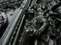 Duomo door Stock Image