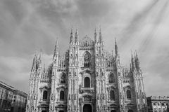 Duomo. In Milano Royalty Free Stock Photography