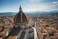 Duomo en Florencia Fotos de archivo libres de regalías