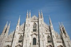 Duomo en Milano Imagen de archivo