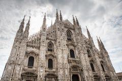 Duomo en Milano Imágenes de archivo libres de regalías