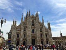 Duomo en Milano Fotografía de archivo libre de regalías