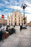 Duomo en Milano, Italia. Fotografía de archivo libre de regalías