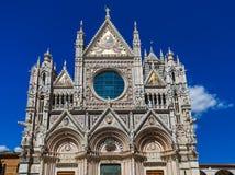 Duomo en Siena - Toscana Italia Fotos de archivo libres de regalías