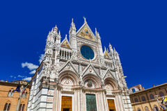 Duomo en Siena - Toscana Italia Fotos de archivo