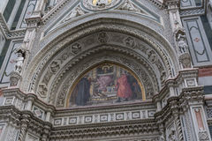 Duomo entrance Royalty Free Stock Photo