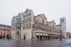 Duomo, Ferrara Royalty Free Stock Image