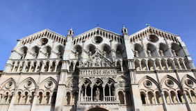 Duomo of Ferrara Royalty Free Stock Photo