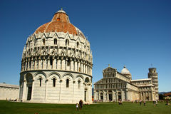 Duomo in Field of Miracle , Pisa Royalty Free Stock Photos