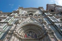 Duomo Firence Prachtige koepel van Brunelleschi in Florence, Ita stock fotografie