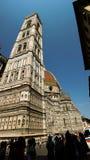 Duomo Firenza в панорамном взгляде Стоковое Изображение RF